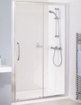 Lakes Classic Semi-Frameless Slider Door - W 1200 x H 1850mm