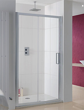 Lakes Coastline Talsi Slider Shower Door - W 1100 x H 2000mm