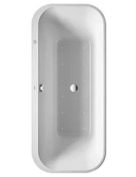 Duravit Happy D.2 Plus Freestanding Whirltub With Panel And Frame - L 1800 x W 800mm