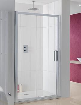 Lakes Coastline Talsi Slider Shower Door - W 1000 x H 2000mm