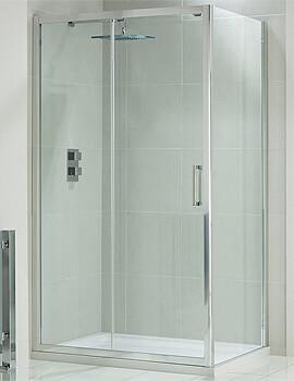 Frontline Aquaglass+ Drift 8mm Sliding Door 1950mm Height