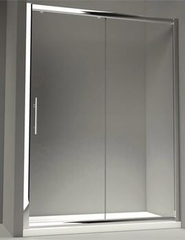 Merlyn 8 Series Sliding Shower Door - W 1200 x 1950mm