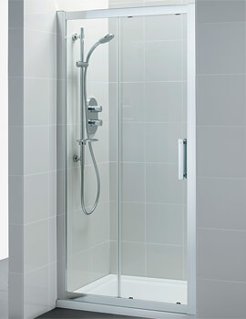 Ideal Standard Synergy 1900mm High Slider Alcove Door With IdealClean Clear Glass
