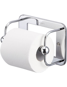 Burlington Chrome Plated WC Roll Holder - W 176 x H 122mm