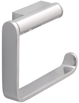 Vado Infinity Chrome Wall Mounted Open Paper Holder