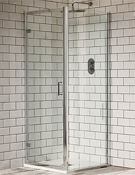 Frontline Aquaglass Purity 6mm Hinged Shower Door