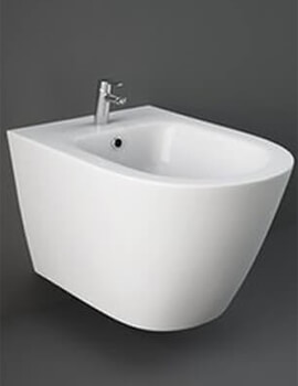 RAK Resort Wall Hung Bidet With Hidden Fixings - W 360 x H 320mm