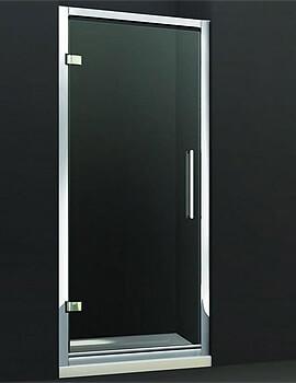 Merlyn 8 Series Hinge Shower Door - W 800 x H 1950mm