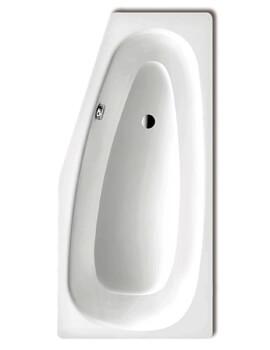 Kaldewei Advantage Mini 836 Left Handed Steel Bath 1570 x 700mm