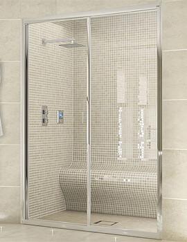 Aqata Exclusive ES300 Sliding Shower Door For Recess