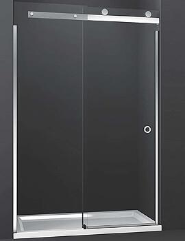 Merlyn 10 Series Sliding Shower Door Left Hand - 1400mm Wide