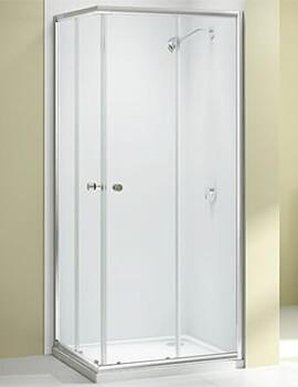 Merlyn Ionic Source Corner Entry Shower Enclosure - W 760/800 x D 760/800mm