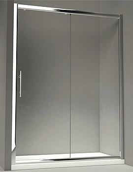 Merlyn 8 Series Sliding Shower Door - W 1700 x 1950mm