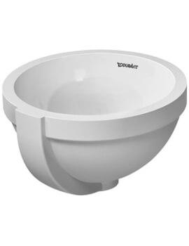 Duravit Architec ndercounter Vanity Basin With Overflow - Diameter 275mm