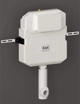 RAK Concealed Cistern For Furniture - Cable Operated Push Button - Side Inlet