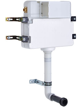 Roper Rhodes In-Wall Dual Flash Concealed Cistern