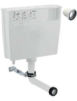 Geberit Low-Height Furniture Cistern With Remote Flush Button