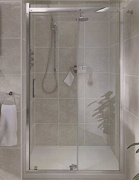 Aqata Spectra SP300 Recess Sliding Shower Door 2000mm Height