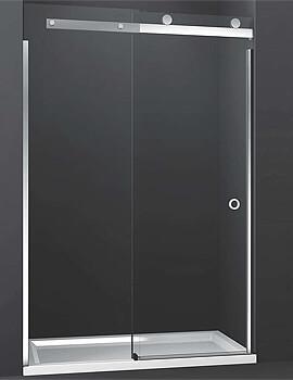 Merlyn 10 Series Sliding Shower Door Left Hand - 1000mm Wide