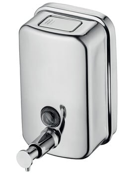 Ideal Standard IOM 800ml Stainless Steel Wall Mounted Soap Dispenser