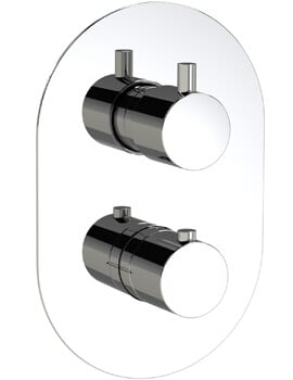 Methven Kaha Two Outlet Concealed Thermostatic Shower Mixer Valve