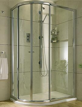 Aqata Exclusive ES360 Sliding Door Quadrant Shower Enclosure