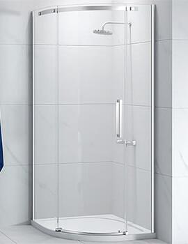 Merlyn Ionic Essence Quadrant Enclosure 1-Door - W 900 X D 900mm - Left Hand