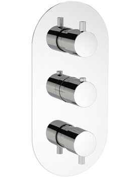 Methven Kaha Three Outlet Concealed Thermostatic Shower Mixer Valve