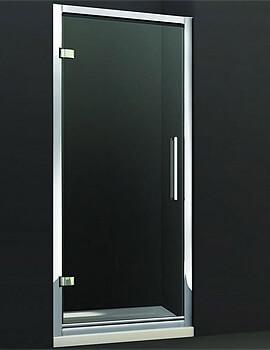 Merlyn 8 Series Hinge Shower Door - W 900 x H 1950mm