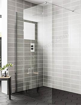 Essential Spring Wetroom Panel - W 760 x H 2000mm