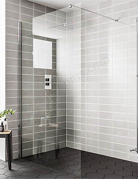 Essential Spring Wetroom Panel - 1100mm Wide