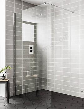 Essential Spring Wetroom Panel - W 1400 x H 2000mm