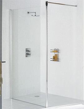 Lakes Classic Walk-In Shower Screen - W 700 x 1985mm