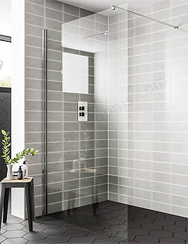 Essential Spring 1000mm Wetroom Panel