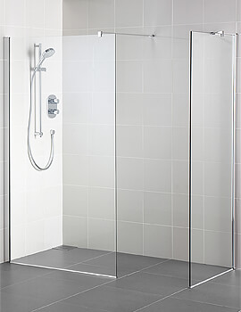 Ideal Standard Synergy 700mm Corner Wetroom With End Panel