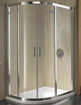 Twyford Geo6 Offset Quadrant Shower Enclosure 1200 x 900mm