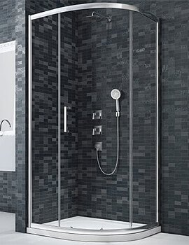 Merlyn Ionic Essence Framed Quadrant Enclosure 1-Door - W 900 x D 900mm