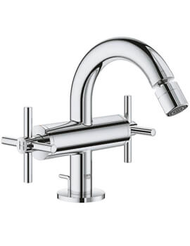 Grohe Atrio M-Size Bidet Mixer Tap With Pop-Up Waste