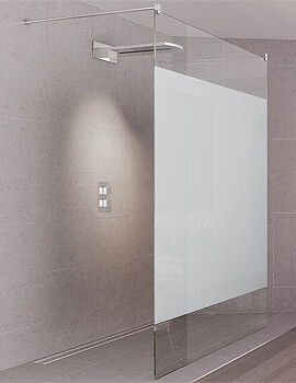 Aqata Design DS440 Double Entry Walk-In Shower Screen 1000mm