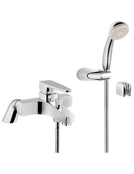 VitrA Q-Line Bath Shower Mixer Tap Chrome
