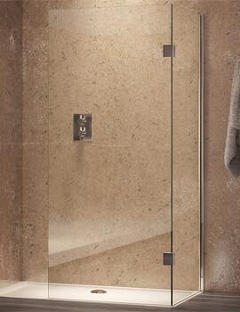 Aqata Design DS410 Walk-In Corner Enclosure 1200 x 760mm Left Hand Entry