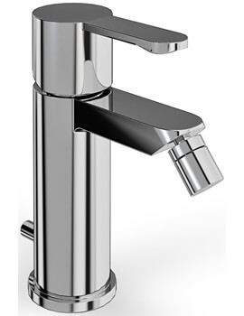 Cleargreen Crystal Bidet Mixer Tap With Pop Up Waste