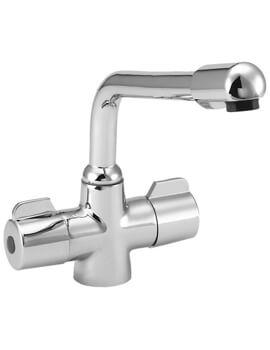 Deva Puffin Mono Kitchen Sink Mixer Tap Chrome
