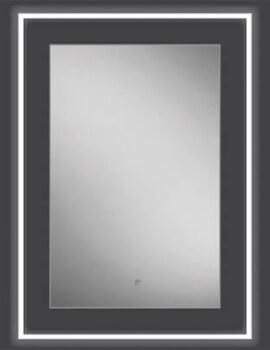 HIB Element 50 LED Illuminated Mirror - W 500 x H 700mm