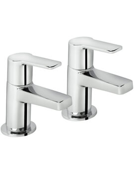 Bristan Pisa Pair Of Bath Taps