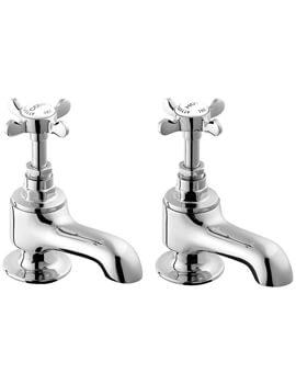 Deva Coronation Pair Of Bath Tap Chrome