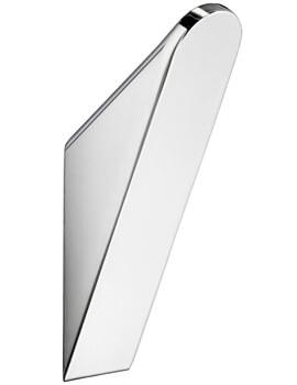 Smedbo Life 30 x 120mm Chrome Large Single Towel Hook