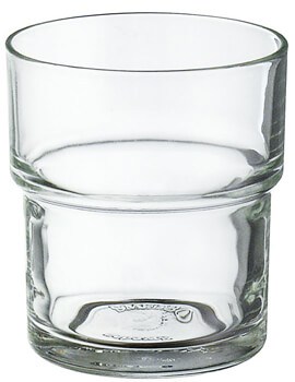 Smedbo Xtra Spare 67mm Clear Glass Tumbler