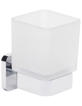 Roper Rhodes Ignite Frosted Glass Tumbler And Holder