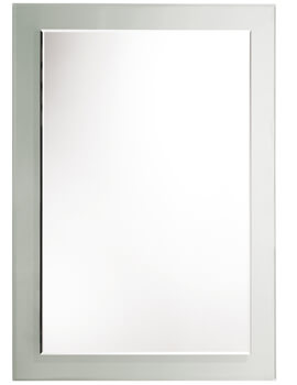 Roper Rhodes Level Bevelled Mirror With Clear Glass Frame